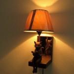 猫さんと一緒に静かに読書しよ【壁掛け猫ランプ】