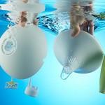 水に浮かべる清潔で癒し効果抜群の加湿器【MIRO CleanPot】