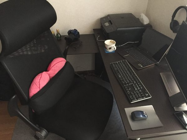 座り心地が良くて仕事がはかどる評判良いリクライニング付きワークチェア【ニトリ タンパ3】